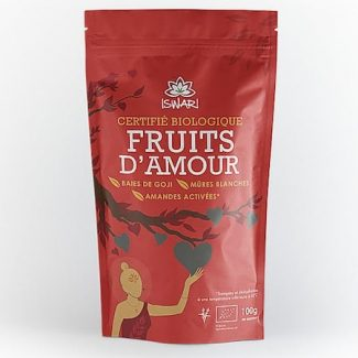 Fruits d Amour mulberries goji amandes bio