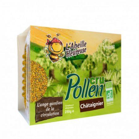 pollen cru chataignier bio