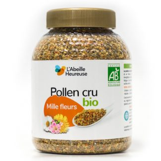 pollen cru mille fleurs bio