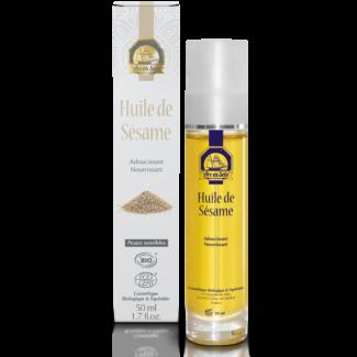 huile de sésame biologique reponsesbioshop