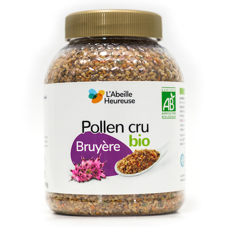pollen cru bruyere bio