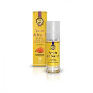 Sérum de beauté : huile d'argan et de pépins de figue de barbarie