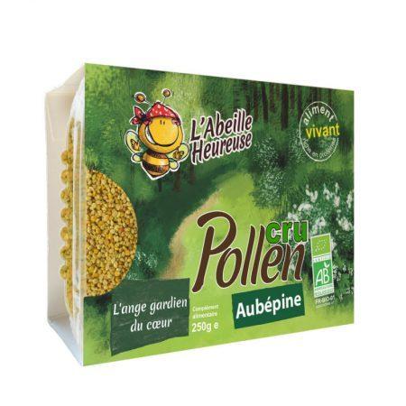 pollen cru aubépine bio