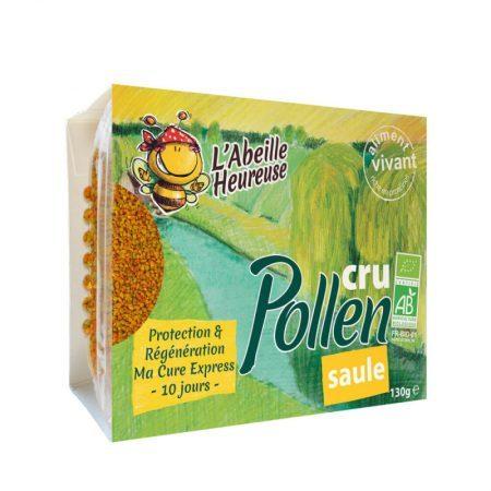 pollen cru de saule bio cure
