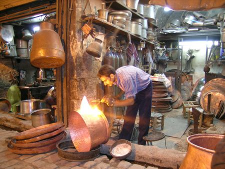 cuivre-etame-karawan-artisanat
