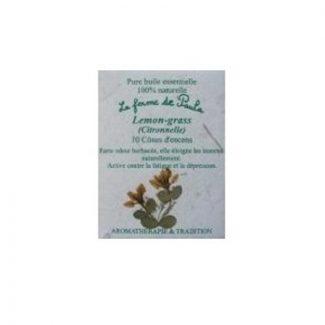 encens cones huile essentielle lemongrass