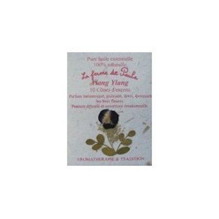 encens cones huile essentielle bio ylang-ylang