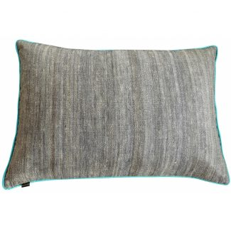 grand-coussin-ortie-et-soie-rectangulaire-turquoise