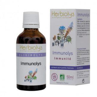 immunolys bio elixir bourgeons herbiolys