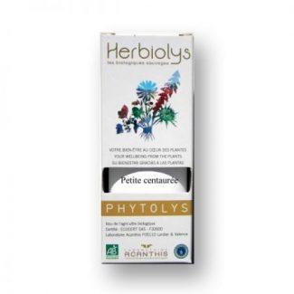petite centaurée extrait de plante fraiche bio phyto