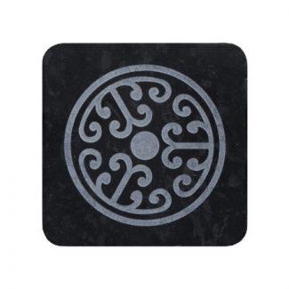 porte-savon yi marbre noir karawan