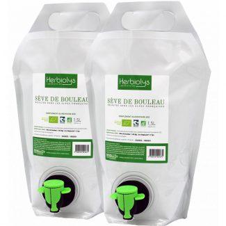 sève de bouleau biologique cure 3 litres