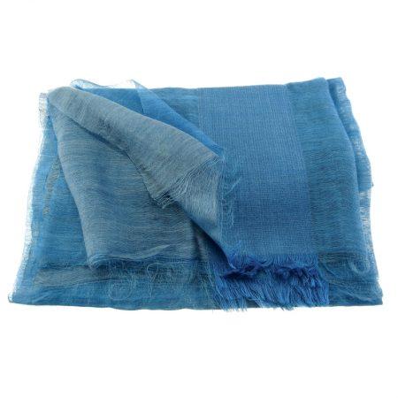 etoles vibrations laine soie bleu encre karawan
