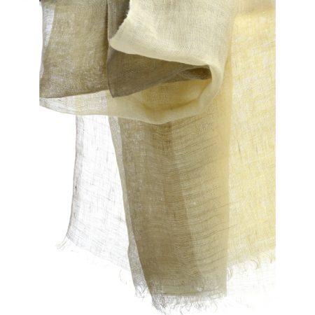 ikat bicolore lin sable karawan