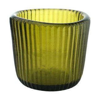 photophore votive uno cactus verre recyclé karawan