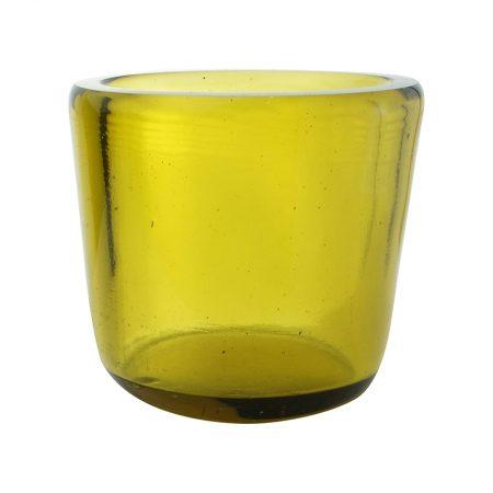 photophore votive uno miel verre recyclé karawan