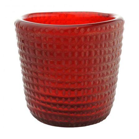 photophore votive uno rubis verre recyclé karawan