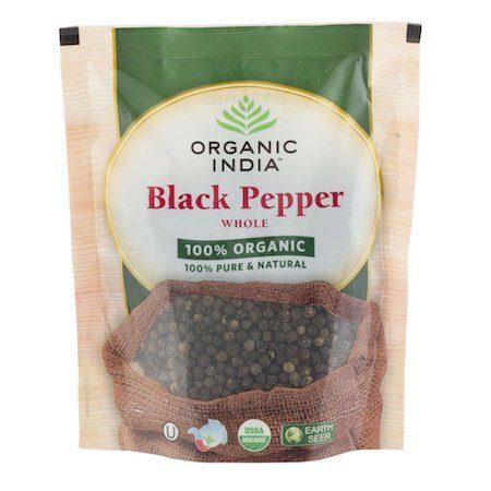 poivre noir grain bio organic india