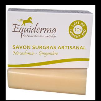 savon-au-lait-de-jument-macadamia-gingembre