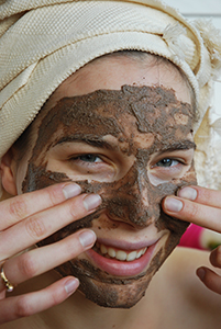 rhassoul karawan argile naturelle masque visage et cheveux