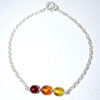 bracelet ambre pierre naturelle