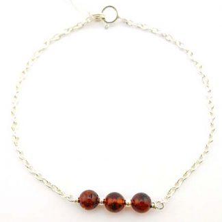 bracelet ambre pierre naturelle lithotherapie