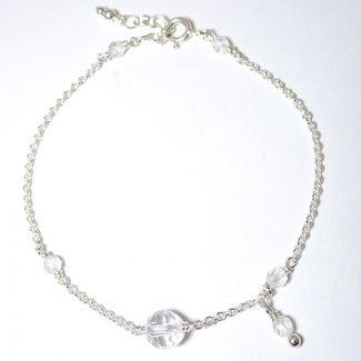 bracelet cristal de roche 3 lithotherapie