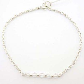 bracelet cristal de roche 4 lithotherapie