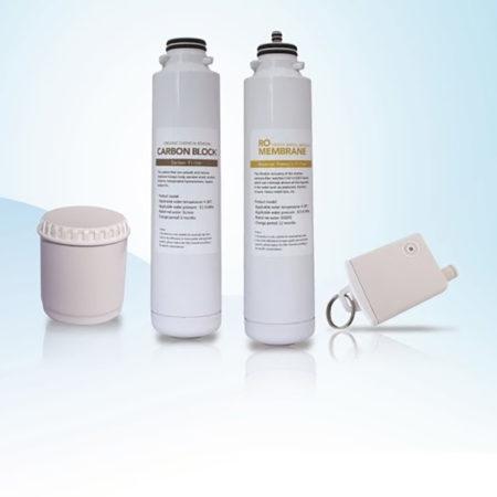 Kit rechange complet filtres + membrane pour Osmoseur