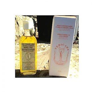 huile d'amande amère d'abricot ayurvédique vedicare