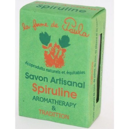 savon ayurvédique végétal spiruline visage corps cheveux