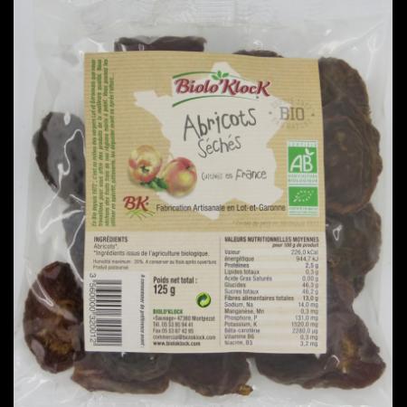 abricots seches bio fabrication artisanale