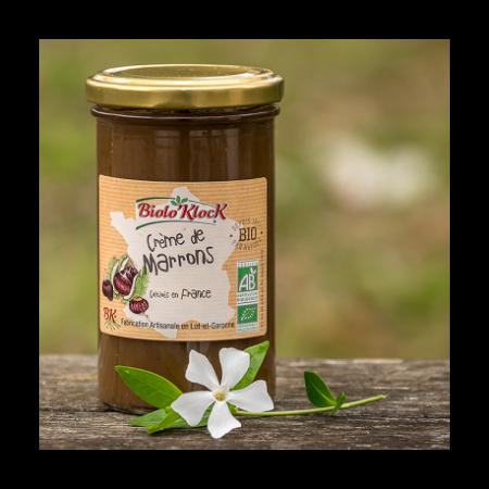 crème marrons bio fabrication artisanale