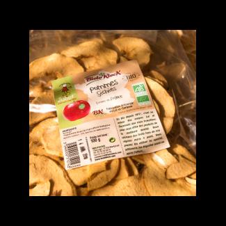 pommes séchées bio fabrication artisanale