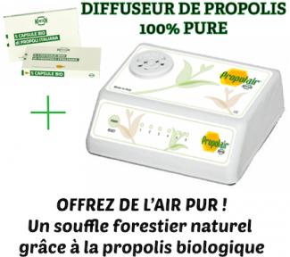 coffret propolair diffuseur de propolis bio