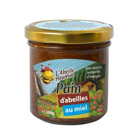 pain d'abeilles au miel bio