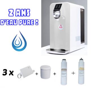 pack eau pure 2ans osmoseur filtres membrane