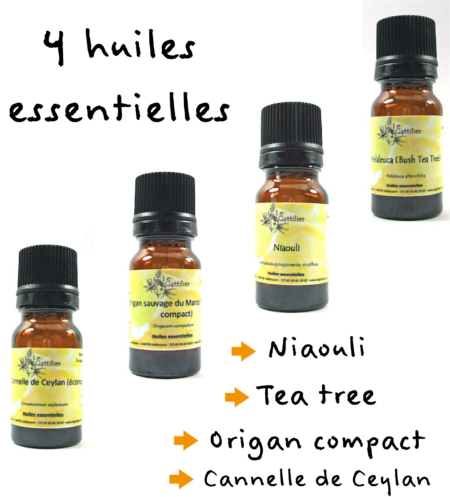 synergie 4 huiles essentielles